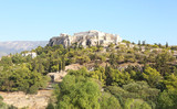 landscape of Parthenon Acropolis as seen from Thissio Athens Greece - 175640238