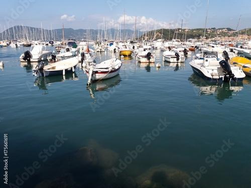 In de dag Liguria Lerici e il meraviglioso golfo dei poeti