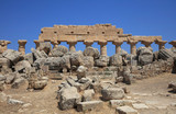 The Acropolis at Selinunte. Sicily. Italy - 175668018