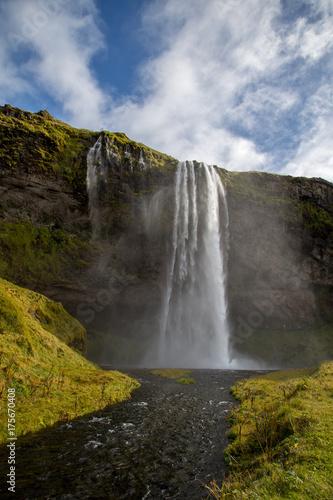 Iceland Waterfall - 175670408