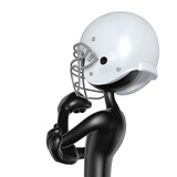 The Original 3D Football Player Character In Thought  - 175688064