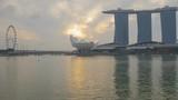 Sunrise rotating Timelapse of Singapore Marina Bay - 175690290