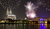 Celebrating New Year in Cologne - 175693825