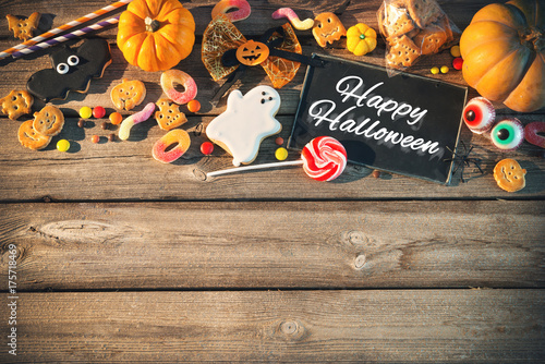 Sweets for Halloween. Trick or treat