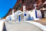 Church near Red beach, Akrotiri, Santorini, Cyclades Islands - S - 175721009