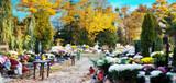 Herbst auf dem Friedhof