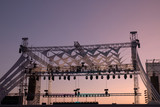 stage for music concert - 175733444