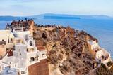 Oia town in Santorini - 175736431