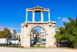 Hadrian's Gate in Athens - 175737835