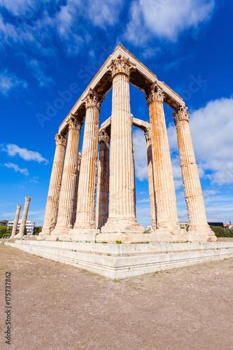 Staande foto Athene Temple of Olympian Zeus