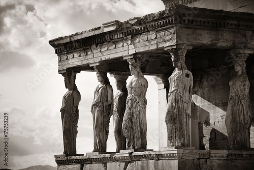 Papiers peints Athenes Erechtheion Temple