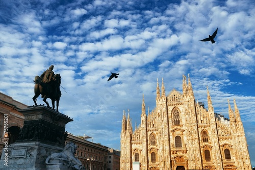 Milan Cathedral Square Poster