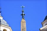 Hieroglyphs Obelisk Sallustiano Trinita Dei Monti Spanish Steps Rome Italy