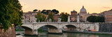 Rome River Tiber panorama - 175759635