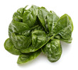 Quadro Baby spinach leaves isolated on white background cutout