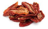 Dried tomatoes isolated on white background cutout - 175773661