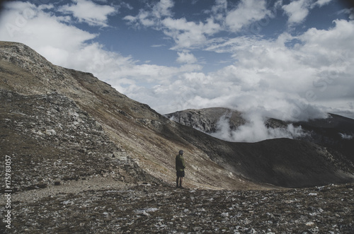 Foto op Aluminium Bleke violet Backpacking in the Indian Peaks Wilderness in Colorado
