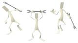 Paper Men Figures, Spanner - 175788259