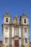 Church of Saint Ildefonso on Batalha Square in Porto - 175796662