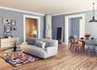 The Modern interior - 175797872
