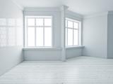 Modern empty interior - 175797889