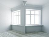 Modern empty interior - 175797894