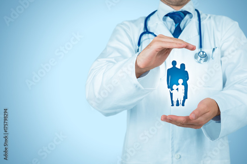 Foto Murales Health and medical insurance
