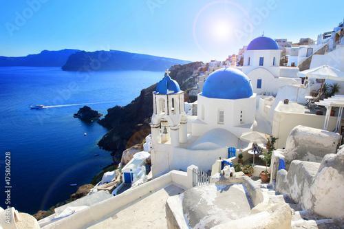 Foto op Aluminium Santorini Santorin / Greece