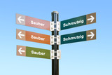 Schild 294 - Sauber - 175815460