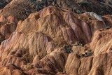 Rainbow mountains in asian geopark at China - 175821087