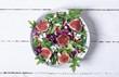 Autumn salad with arugula - 175821425