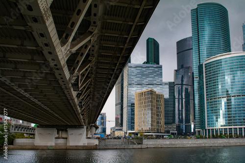 Poster Moskou Дорогомиловский мост