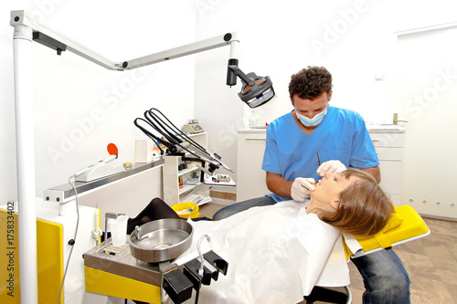 Dentist workplace office