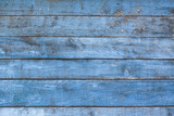 old blue wall - 175835431