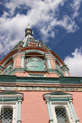 Poster Moskou Moscow,church,summer.