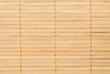 Bamboo mat closeup shot, abstract seamless texture