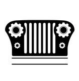 jeep parts und werkstatt logo