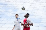Male player playing soccer - 175862605