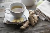 Fresh Ginger Tea - 175863849