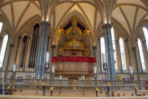 Aluminium London Interior of Temple church,London