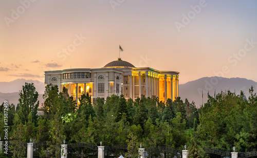 Palace of Nations, the residence of the President of Tajikistan, in Dushanbe