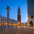 Quadro Piazza San Marco in Venice, Italy, early in the morning
