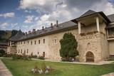 Romania, Moldovita Monastery,September ,2017,inner  yard and ,basement entrance - 175885475