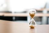 Sand clock, business time management concept - 175886843