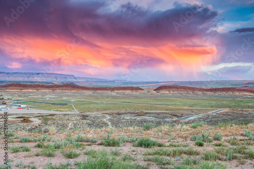 Poster Arizona amazing utah landscape sundown