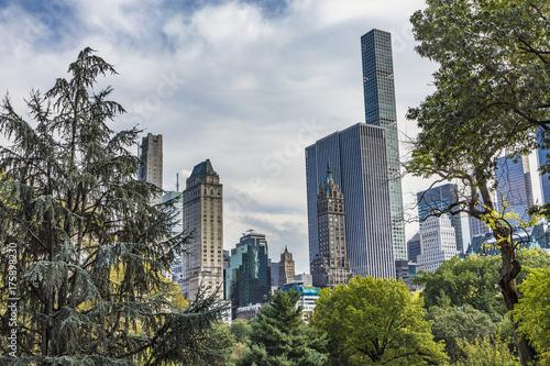 Tuinposter New York skyline of New York