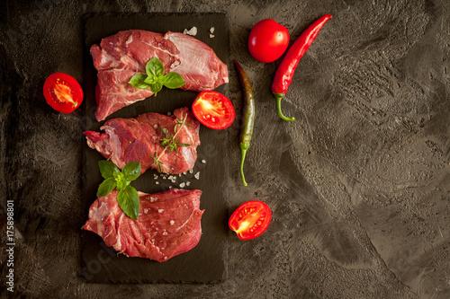 Fotobehang Steakhouse Beef