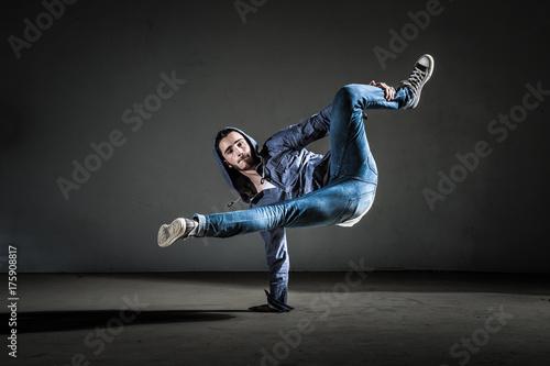 Plakat Danseur breakdance et hip hop moderne