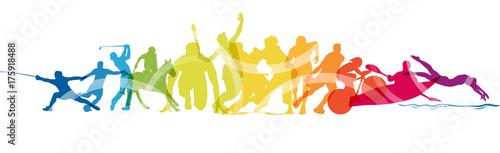 Sport, gare, competizioni © elaborah
