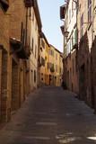 Straße in Montepulciano